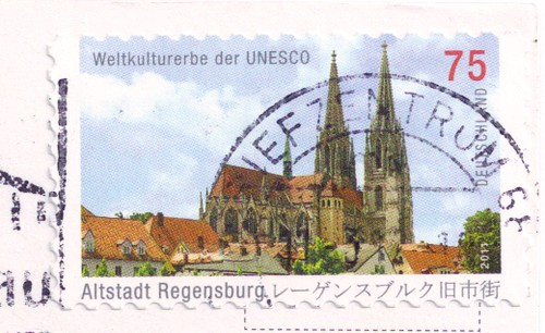Germany UNESCO Stamp