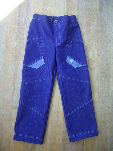 Denim pants, front. by oddwise