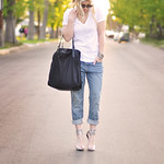 slouchy outfit- glam accessories