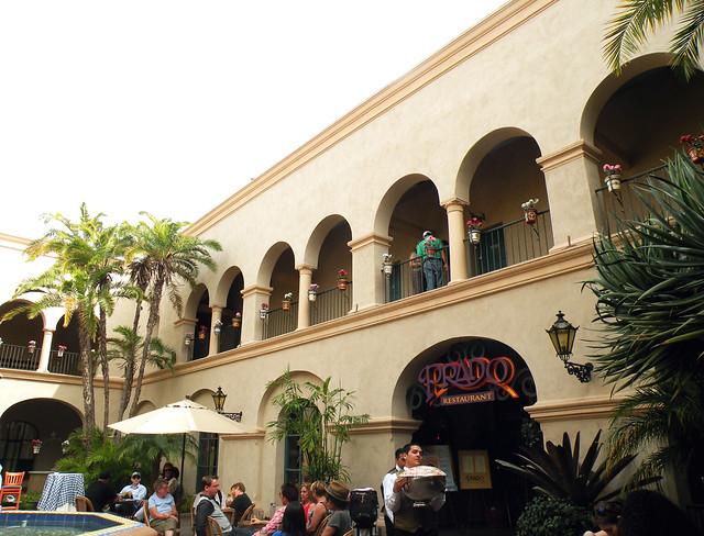 Prado Restaurant Courtyard
