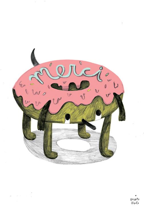 MERCI donutdog