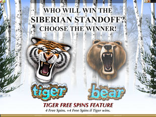 Tiger vs. Bear Bonus Feature