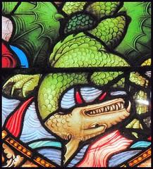 St Michael's dragon