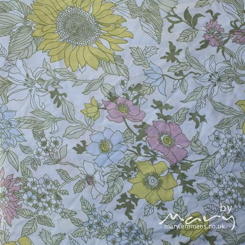 Floral duvet case
