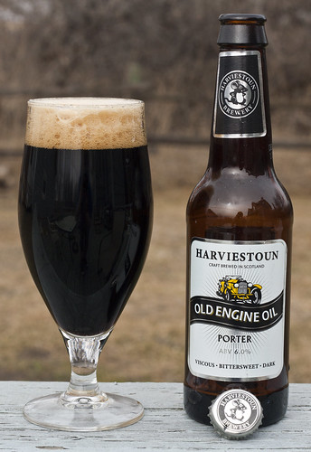 Review: Harviestoun Old Engine Oil Porter (Scotland) by Cody La Bière