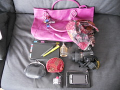 The contents of my bag.
