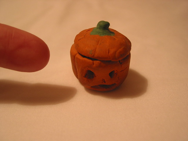 IMG_6347 tiny plasticine pumpkin