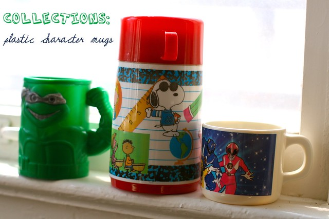Collections: Plastic Character Mugs