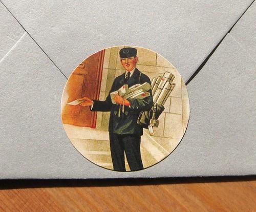 Postman sticker
