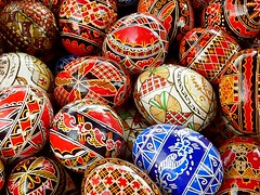 Happy (Orthodox) Easter ! , Painted easter eggs