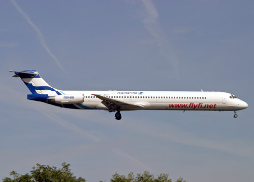 OH-LMR MD-83 Flying Finn Airways