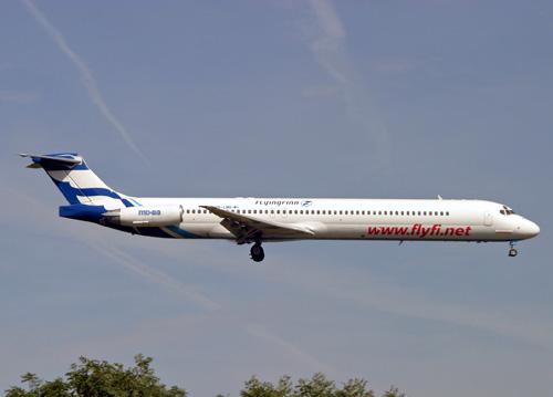 OH-LMR MD-83 Flying Finn Airways