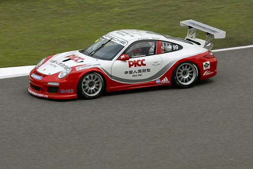 Alexandre Imperatori in Porsche Carrera Cup Asia 2012 @ Shanghai Circuit