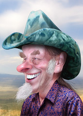 Ted Nugent - Caricature