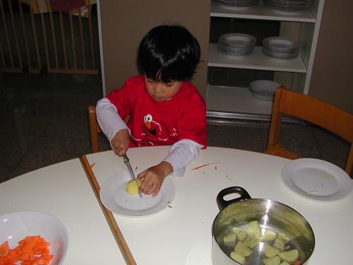 kids potato knife