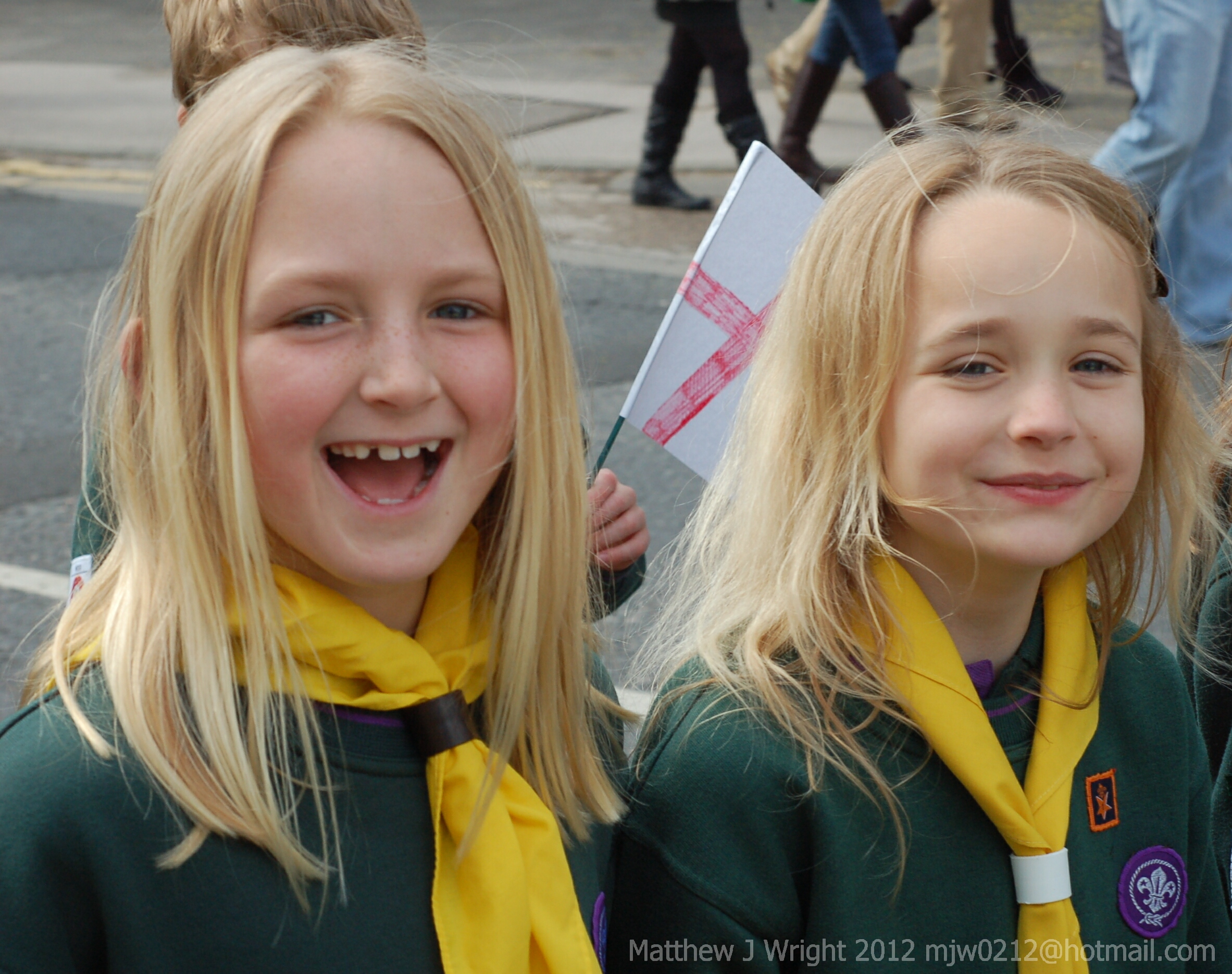 Ormskirk and District Scouts St Georges Day Parade 2012