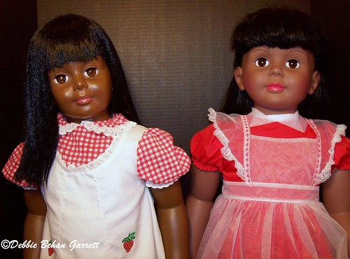 1981 Ideal and 2006 Ashton Drake Patti Playpal Dolls