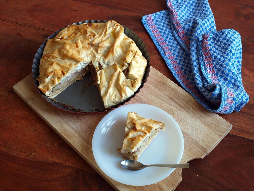 Apfel-Polenta-Kuchen