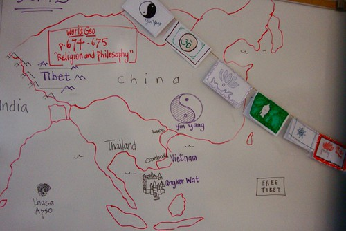Magnet geography / Tibet  by trudeau
