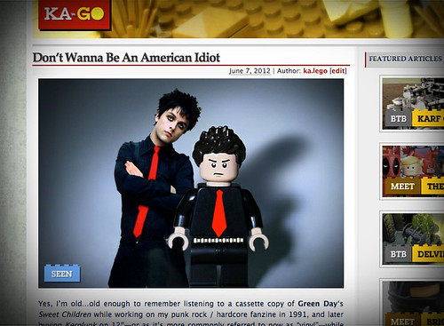 Brick Something: Don't Wanna Be An American Idiot