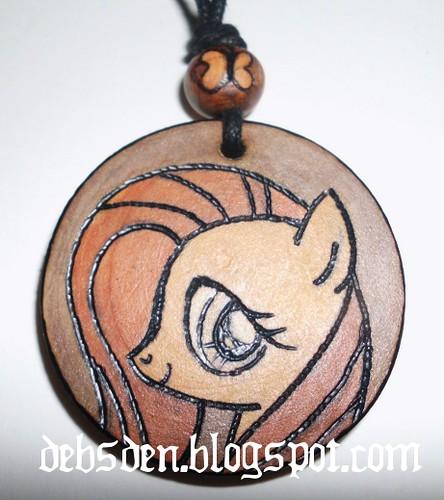 Fluttershy Necklace by Debra Arnold