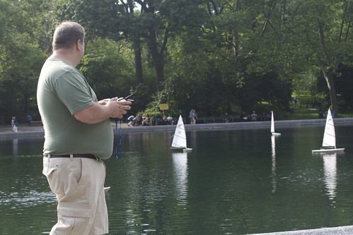 RC Sailboats in Central Park