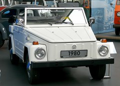 VW Typ 181 Safari 1980 white vr