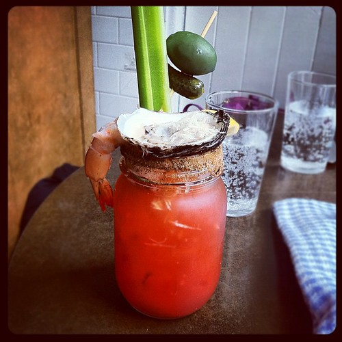 "The bloody Caesar. What I like to call ""Not Fucking Around"" #food"