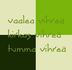 Värikollaasi #086 - viikon värit (Finnish)