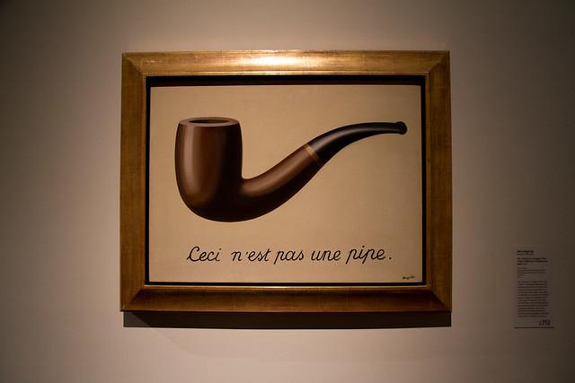 La trahision des images ceci n est pas une pipe - Ceci n est pas une chaise ...