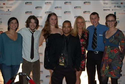 fCast & Crew at Gasparilla 2011 red carpet