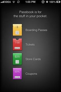 Passbook iOS 6