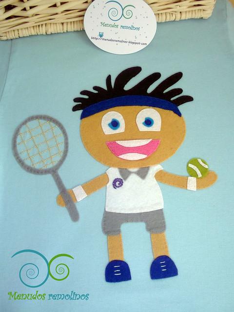 Camiseta personalizada Tenis Niño