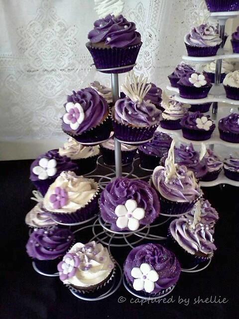 Purple Cupcakes Flickr - Photo Sharing!