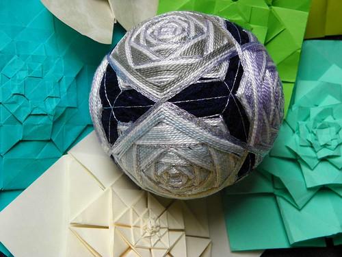 Temari and various fractal tessellations