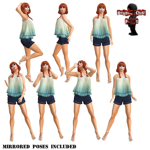 Bounce This Poses - Seductive Pose Pack 2