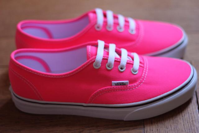 Mes petits souliers #8 : Vans et Fluomania Zoé Bassetto