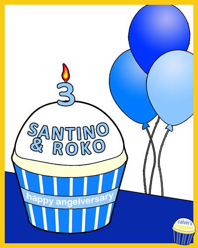 Santino and Roko (12.18.2009)