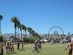 Coachella music area