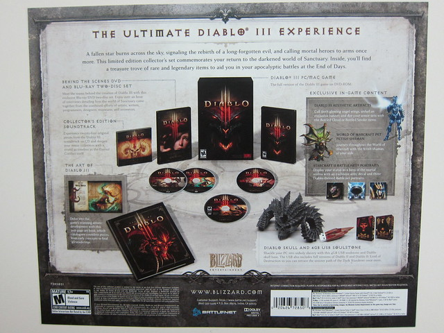 Diablo III: Collector's Edition - What's In The Box