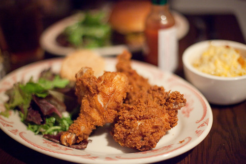 Fried Chicken at Bobwhite Lunch and Supper Counter. Photo by Donny.