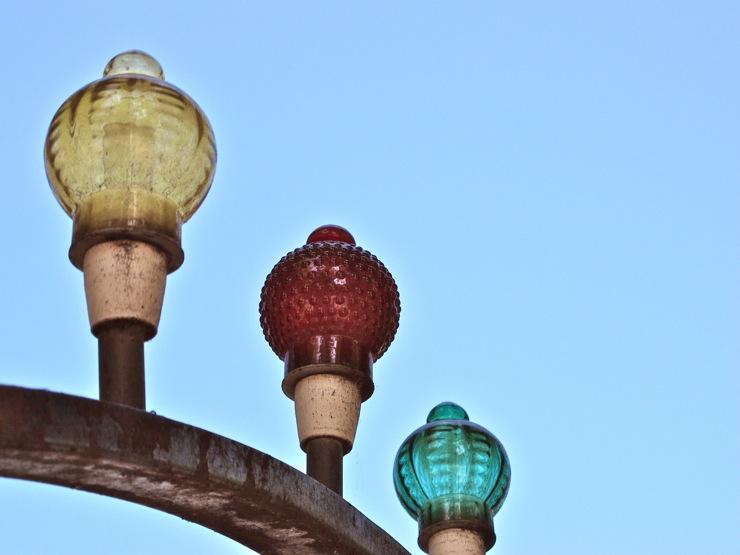 Vintage Tivoli lamps