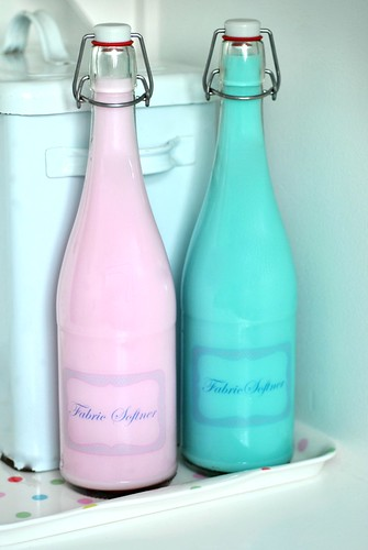 Fabric Softener bottles