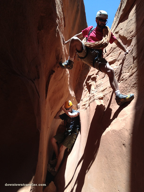Canyonnering at Escalante National Monument 10