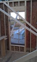left Living room window