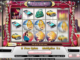 Hot City free spins