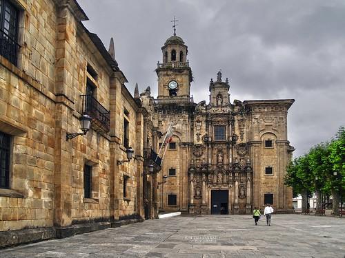 españa spain arquitectura catedral iglesia galicia lugo monasterio olympuse500 lourenzá amariña estilobarroco joséluiszueras mygearandme silverlostcontperdidos sansalvadordelourenzá