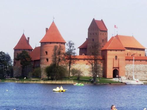 Litwa, Trakai, Zamek, Lithuania, Trakai, Castle, Teutonic Knights by xpisto1