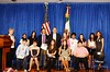 Ambassador Wayne Hosts Young Winners of American History Essay Contest