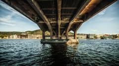 Under Bybrua i Drammen